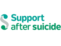 Logo for SASP, the Support After Suicide Partnership